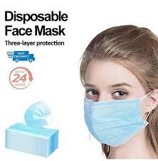 20/<b>50</b>/<b>100 PCS Disposable Face Masks</b> Outdoor <b>Disposable Face</b> ...