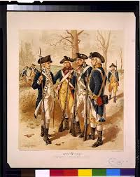 chapter questions uniforms of the continental army