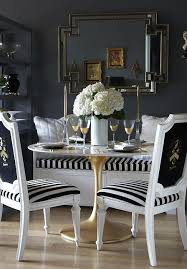 black and white dining room view full size black and white striped furniture