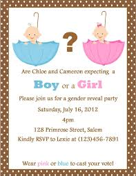 gender reveal party invitation template com gender reveal party invitation template as inspiration for you in choosing a appealing party invitation card 18