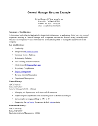 general manager resumes assistant general resume s examples cover gallery of sample hotel general manager resume