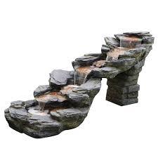 <b>Фонтан</b> с подсветкой <b>Haomei Fountain</b> каскад 209х79хh93 ...