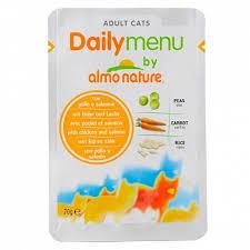 <b>Консервы Almo Nature Daily</b> menu для кошек, Курица/Лосось для ...