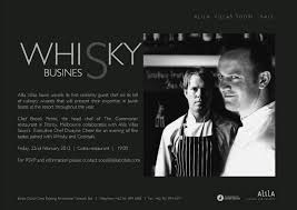epicurina bali food adventure blog alila villas soori s whisky alila villas soori s whisky business dinner invitation