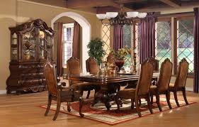 Solid Cherry Dining Room Table Finished 42149 1jpg Finished Esf Dining Set Cherry Original Brandt