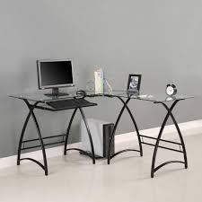 free building design ideas thayray black ikea glass top desk