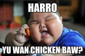 Fat Chinese boy memes | quickmeme via Relatably.com
