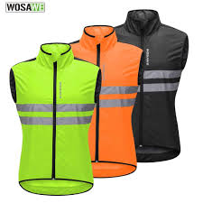 <b>WOSAWE Motorcycles Reflective</b> Jacket High Visibility Sleeveless ...