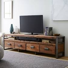 Image result for Every Living Room Needs A Reclaimed Teak Wood Media Cabinet