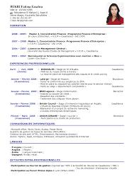 CV de comptable classique CV Original