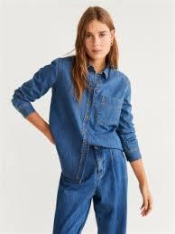 Купить <b>джинсовые рубашки</b> женские в интернет магазине ...