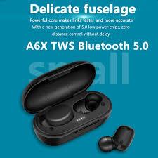 <b>TWS</b> wireless earphone game headset <b>A6X</b> VS GT1 PRO Touch ...