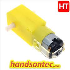<b>3</b>~<b>6V Mini DC</b> Gear Motor – Dual Shaft – HandsOn Tech