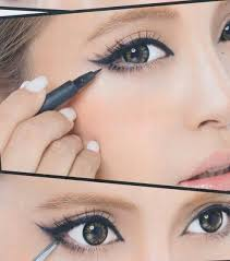 you cute anime eyes makeup tutorial middot only line the outer half of your lower lid when lining your lower lid definitely wing