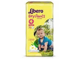 <b>Подгузники</b>-<b>трусики Libero Dry</b> Pants Maxi, 7-11 кг, 34 шт. купить в ...