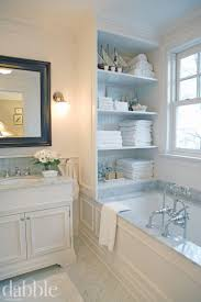 bathroom quot mission linen: master bath inspiration tub wall trim marble built in storage