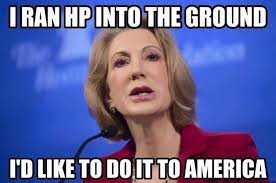 Image result for fiorina and bush cartoons