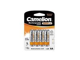 camelion aa 2500mah ni mh bl 2 nh aa2500bp2 аккумулятор 1 2в