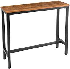 "Mr IRONSTONE Bar Table, 47"" Rectangular Kitchen ... - Amazon.com"