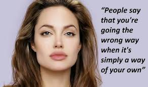 Angelina Jolie Quotes You Will Enjoy via Relatably.com