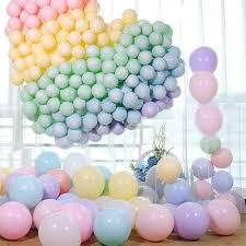 <b>100pcs 10 Inch Macaron</b> Pastel <b>Color</b> Latex Balloon for Birthday ...