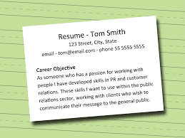 interviewing is it a good idea to put summary in place of job how to write an objective how to write cv new format what should my objective
