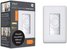 C by GE <b>Wire</b>-<b>Free Smart</b> Dimmer <b>Switch</b> + Color Control, Bluetooth ...