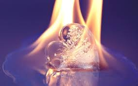Image result for fire heart broken