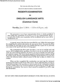 english regents essay booklet  essay regents examination english language arts common core