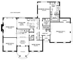 Free House Floor Plan Builder Home Design Cheap House Floor Plan    Modern Single Story House Floor Plans Home Modern House Floor Plan