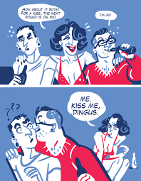 mariealbertine: OC Kiss Meme Part II: The... - THE GAG REEL via Relatably.com