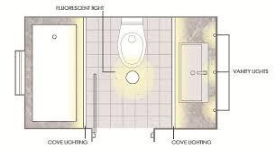 lighting schemes brevious bathroom layout