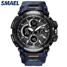<b>Smael SMAEL</b> Mens Watches <b>Top Brand</b> Luxury Camouflage Quartz ...