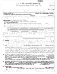 real estate forms page of pdf template form residential lease agreement pdf template
