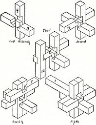 <b>SIX PIECES</b> BURR KNOT | <b>Wooden</b> puzzles, 3d <b>wood</b> puzzles ...
