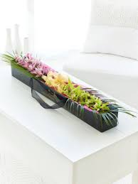 day orchid decor: orchids in a box mothers day flowers  orchids in a box