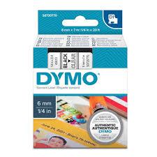 Лента для принтера этикеток <b>Dymo D1</b> S0720770, 6мм х 7м ...