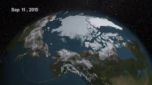 Daily Arctic Sea Ice - Summer 2009 - SVS