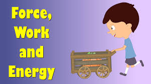 force work and energy for kids
