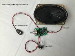 battery powered guitar amps portable amps that rock amp kit wiring