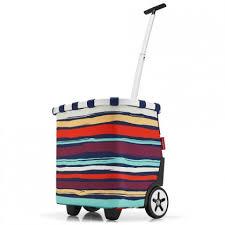 сумка тележка reisenthel foldabletrolley artist stripes