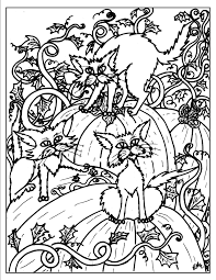 Small Picture halloween coloring pages getcoloringpages com 110 best adult