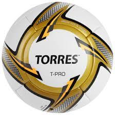 <b>Мяч футбольный TORRES T-Pro</b>, F31899, размер 5, PU ...