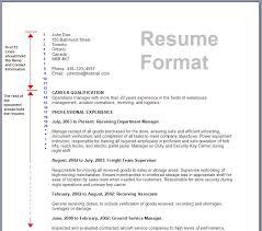 Resume Format       best resume format      word document  best     happytom co