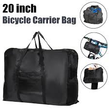 "20"" Folding <b>Bike</b> Travel <b>Bag</b> Road <b>Mountain Bicycle</b> Carry Transport ..."