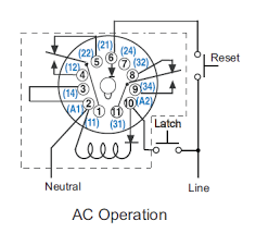 cr4 th wiring octal 11 pin latching relay and finally since we re all on the same page here s the diagram from the relay documentation
