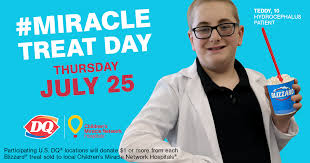 <b>Miracle</b> Treat Day is coming to Dairy <b>Queen</b>! – Children's <b>Miracle</b> ...