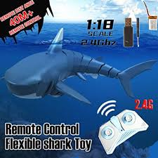 Yunhigh-uk <b>2.4G RC Boat</b> Remote Control Shark Toy Remote ...