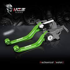 MZS Pivot Levers Brake Clutch CNC Green for ... - Amazon.com