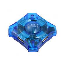 <b>USB</b>-концентратор <b>CBR CH-127</b>, 4 порта, <b>USB</b> 2.0, голуб. - купить ...